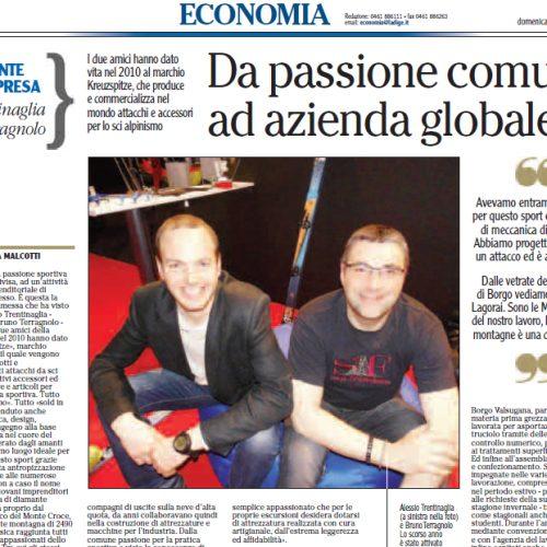 Gente d'impresa L'Adige Mag 2014