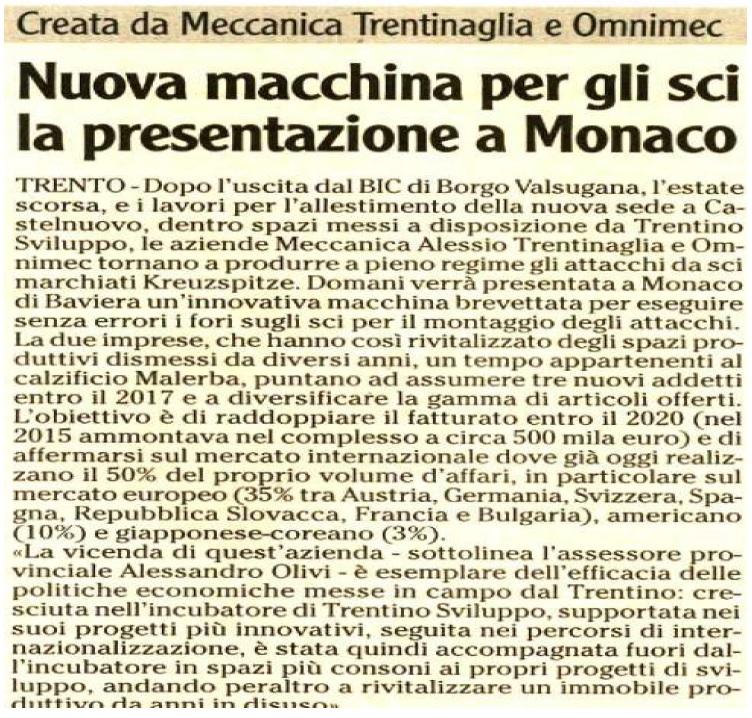 Omnijig a ISPO Monaco