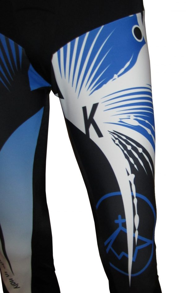 Tuta scialpinismo Kreuzspitze TSA Particolare tuta ginocchio Sx