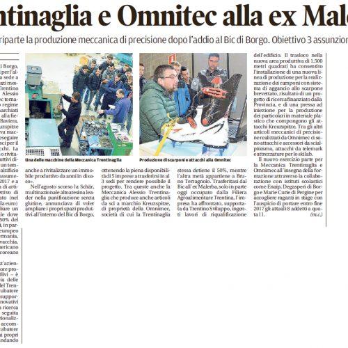 Articolo Trentino 4-2-2017